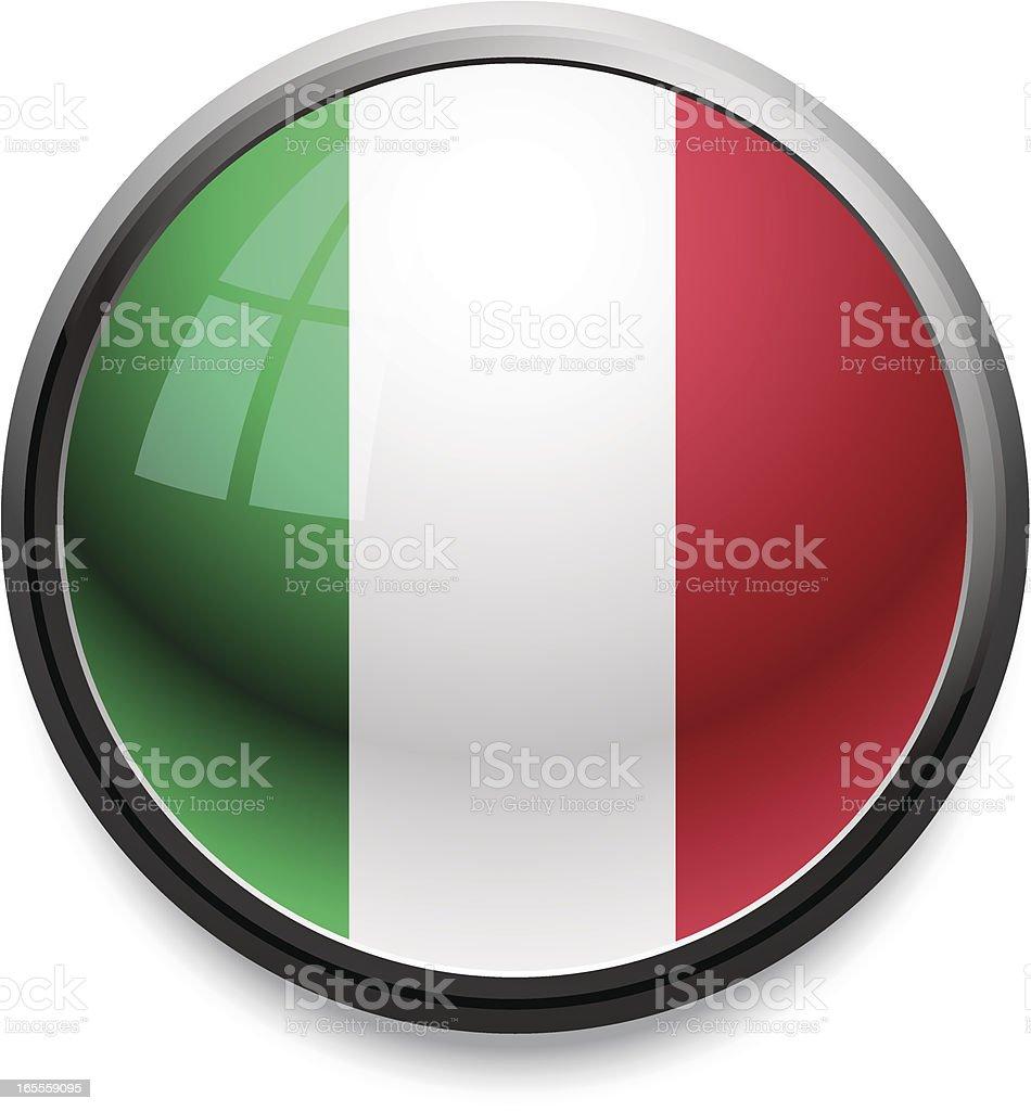 Italy - flag icon royalty-free stock vector art