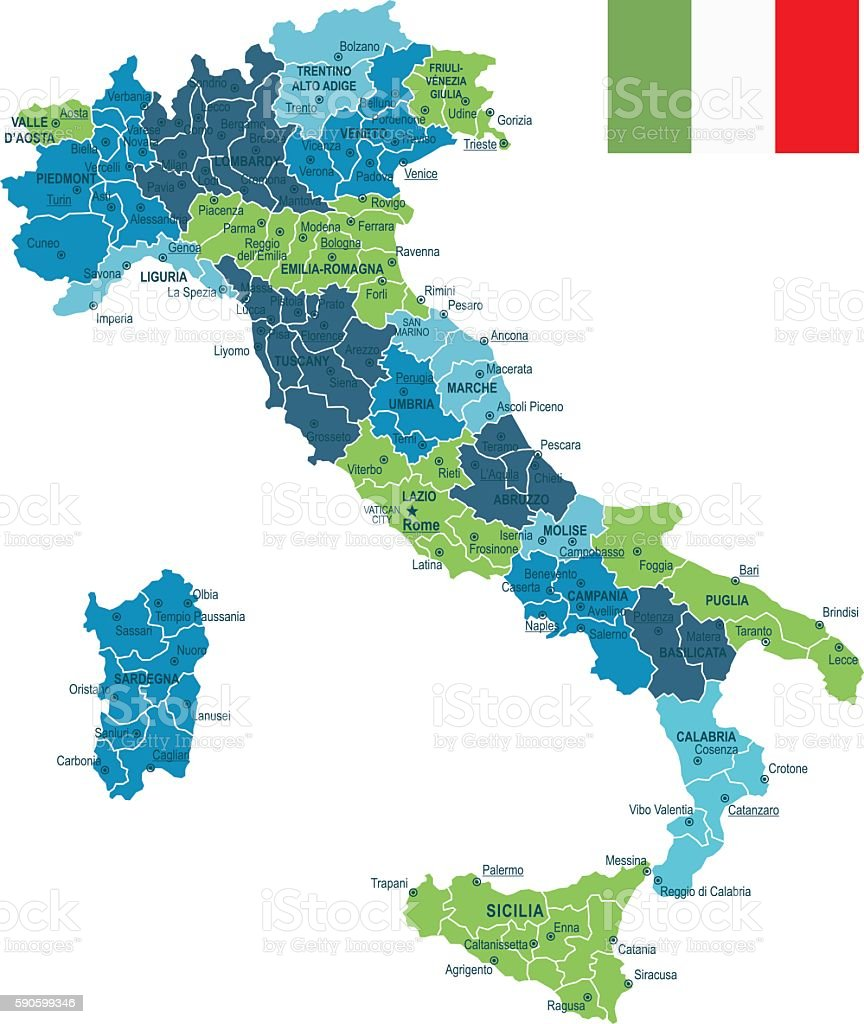 map of italy and milan choice image
