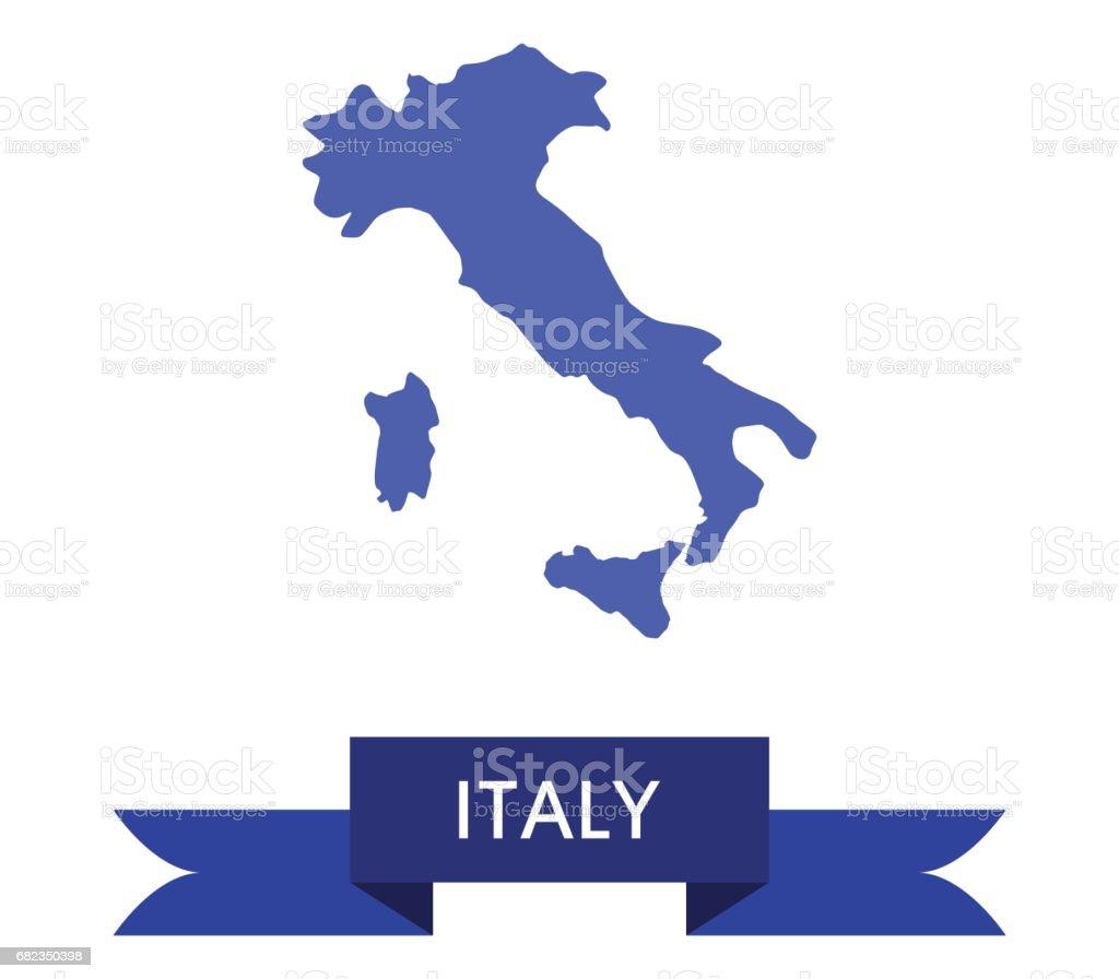 Italy map italy map - stockowe grafiki wektorowe i więcej obrazów bez ludzi royalty-free