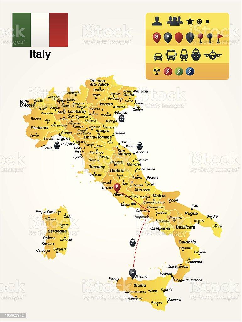 Italy royalty-free stock vector art