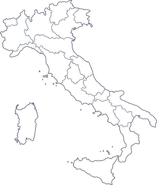 Cartina Italia Vettoriale.Cartina Italia Illustrazioni E Vettori Stock Istock