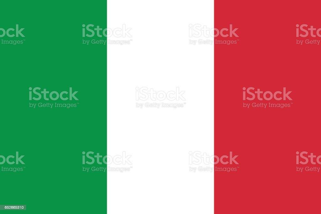 Italy vector art illustration