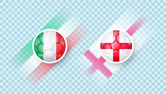 Italy vs England match