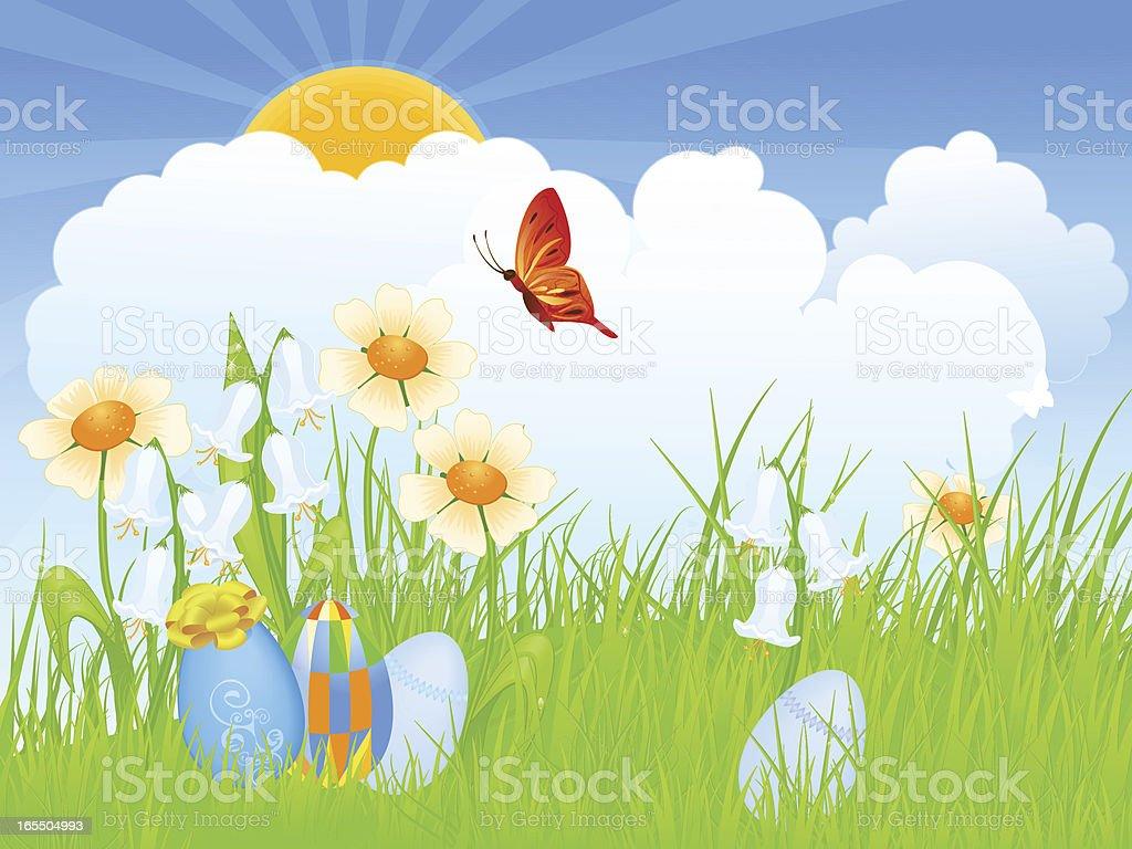 Es Ist Ein Wunderschöner Tag Stock Vektor Art Und Mehr Bilder Von