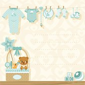 It´s a boy baby shower invitation