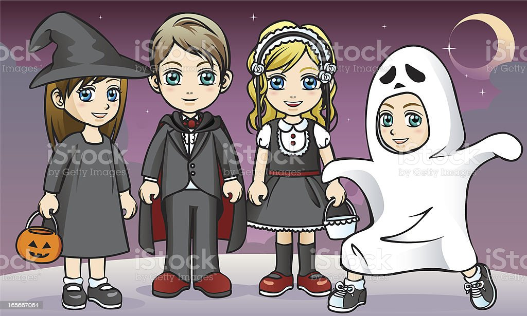 It's Halloween! royalty-free its halloween stock vector art & more images of beautiful people