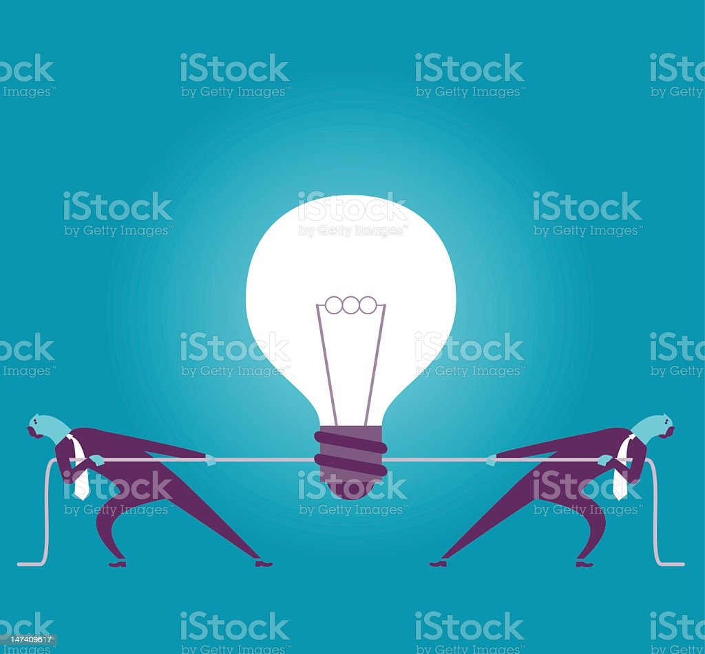 It's My idea royalty-free stock vector art