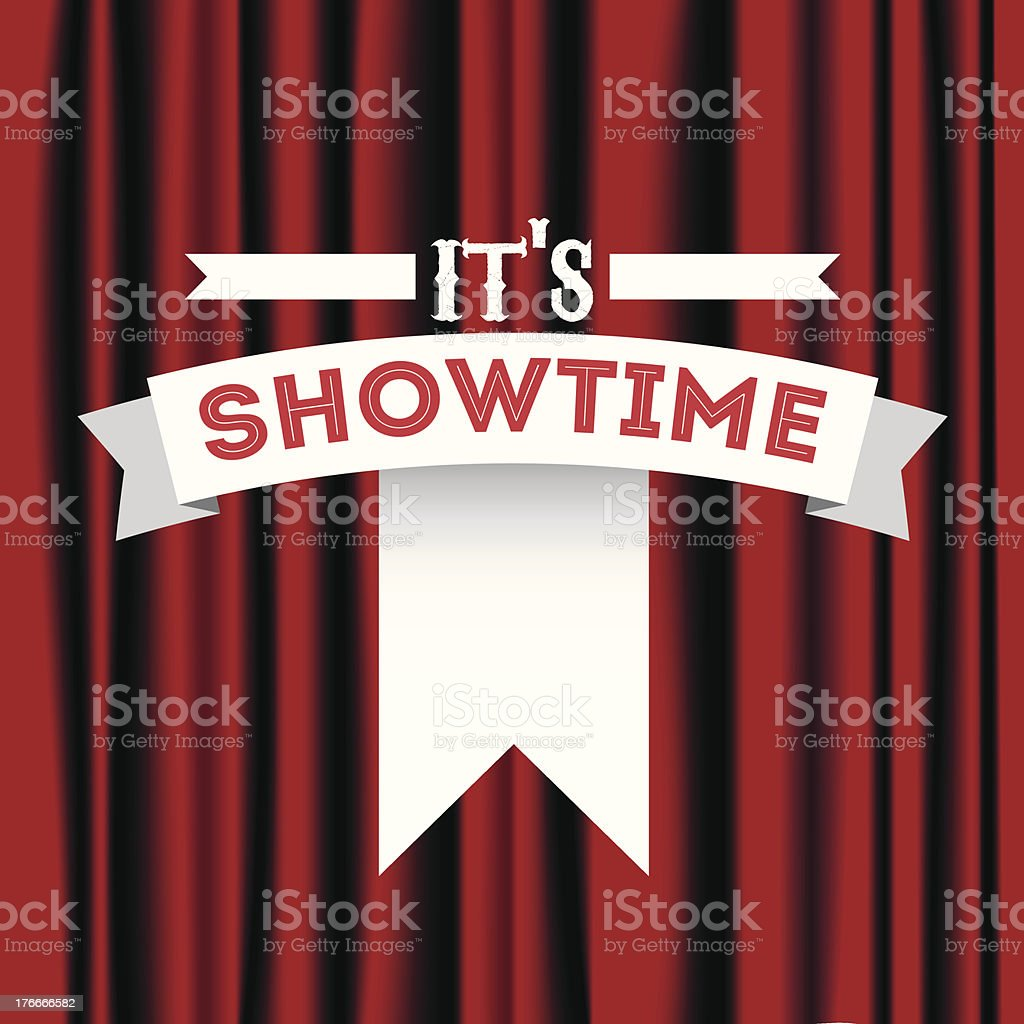 Its showtime royalty-free its showtime stock vector art & more images of arts culture and entertainment