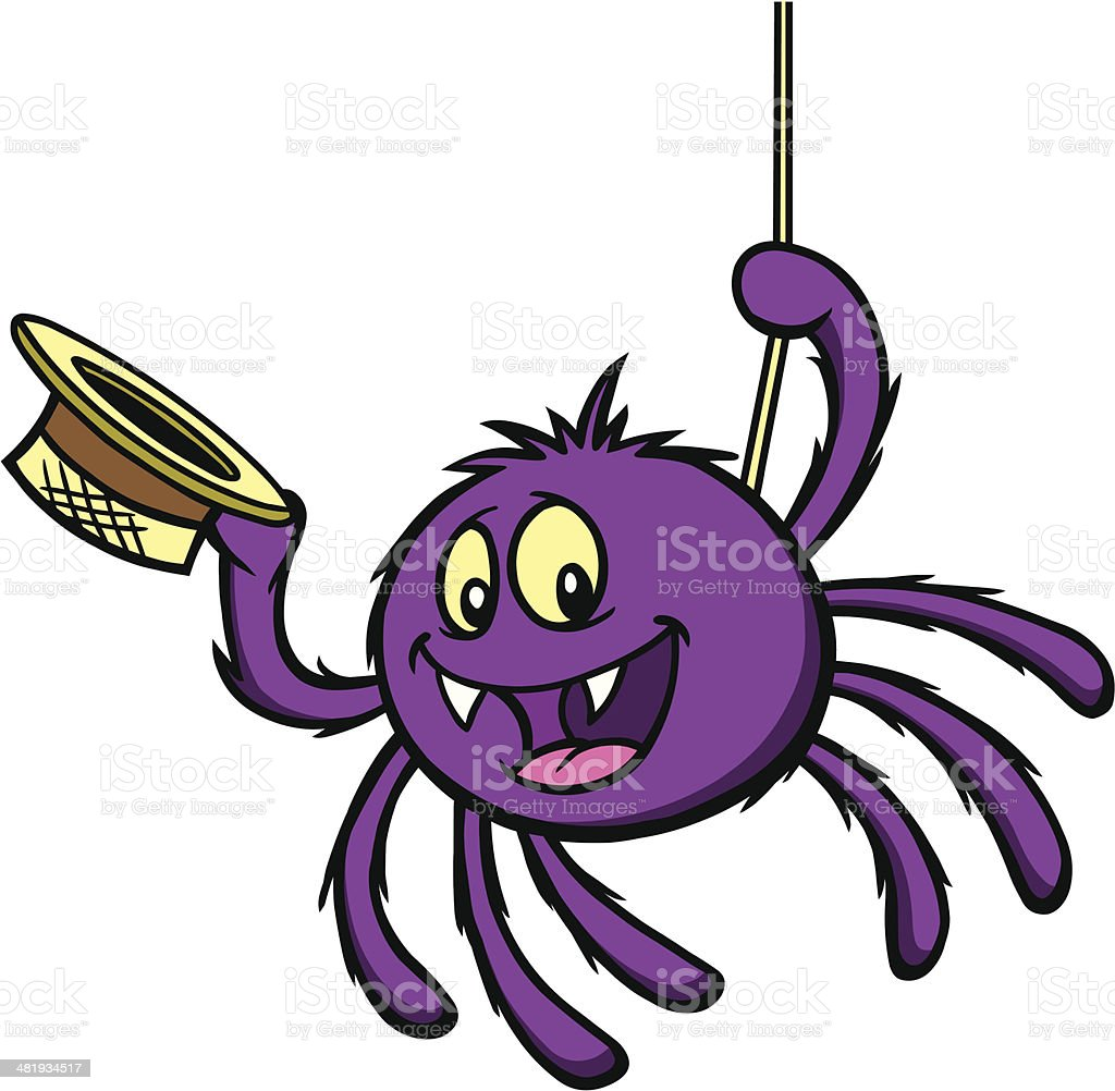 Itsy Bitsy Spider Stock Illustration - Download Image Now ...