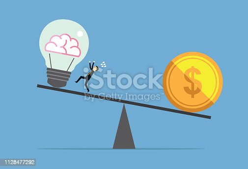 Businessman, Stock Market Data, Currency, Coin, finance