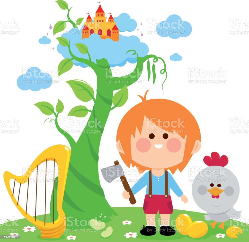 royalty free jack and the beanstalk clip art vector images rh istockphoto com jack and the beanstalk giant clipart jack and the beanstalk clipart cute