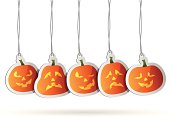 Jack O' Lantern Tags. High Resolution JPG,CS5 AI and Illustrator EPS 8 included. Each element is named,grouped and layered separately.