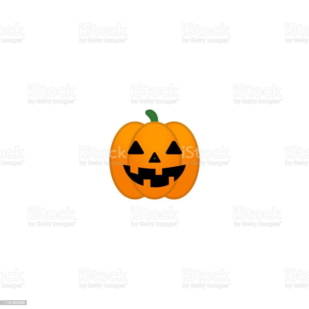 Jack O Lantern Vector Icon Halloween Pumpkin Vector Symbol Happy Halloween Pumpkin Isolated Emoji Illustration Stock Illustration Download Image Now Istock