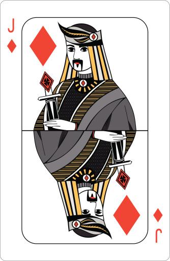 Jack of diamonds.