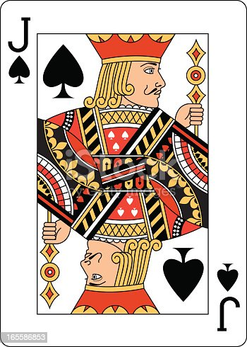 Jack Of Spades Two Playing Card Stock Vector Art Amp More