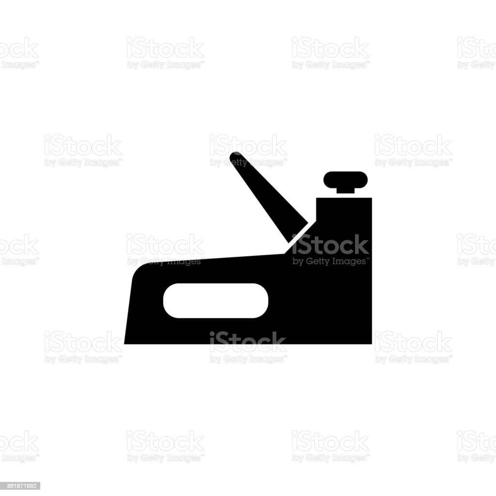 Jack plane icon vector art illustration