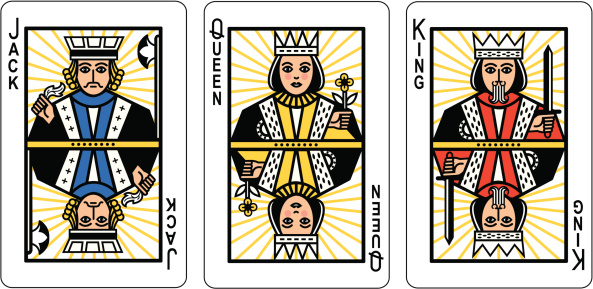 Jack Queen King Playing Cards
