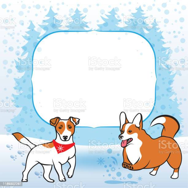 Jack russel and corgi dogs on winter new years forest background vector id1189302261?b=1&k=6&m=1189302261&s=612x612&h=8oceqolucgfc30d1fp6nizhdoz5xaly9xfwgxx1klxo=