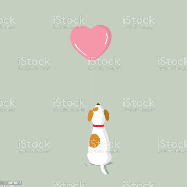 Jack russell terrier puppy with pink heart shape helium balloon vector id1049876518?b=1&k=6&m=1049876518&s=612x612&h=qmathee1yomneerh bqhbx rg7giwezmitpnapqr5qk=