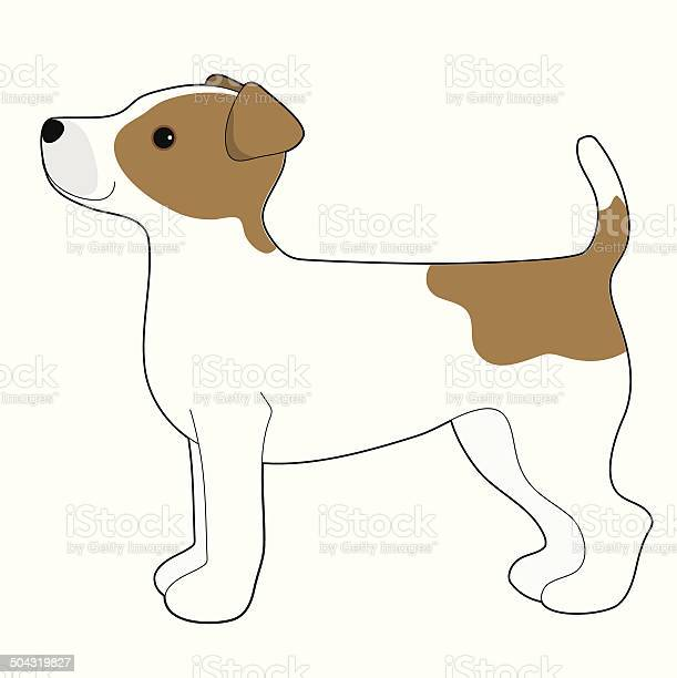 Jack Russell Terrier Stock Illustration - Download Image Now