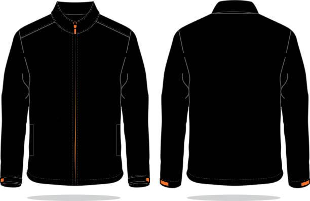illustrazioni stock, clip art, cartoni animati e icone di tendenza di jacket design vector - giacca