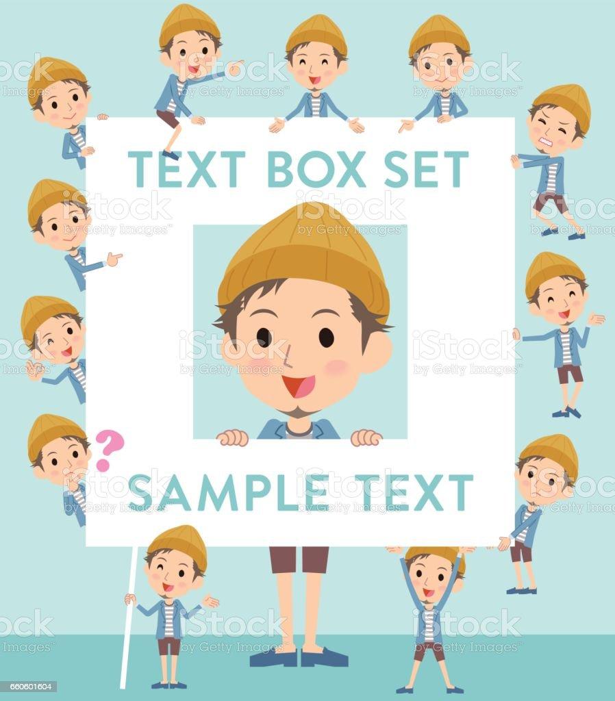 Jacket Short pants knit hat man text box royalty-free jacket short pants knit hat man text box stock vector art & more images of adult