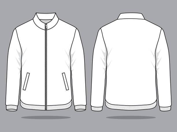 illustrazioni stock, clip art, cartoni animati e icone di tendenza di vettore giacca per modello - giacca