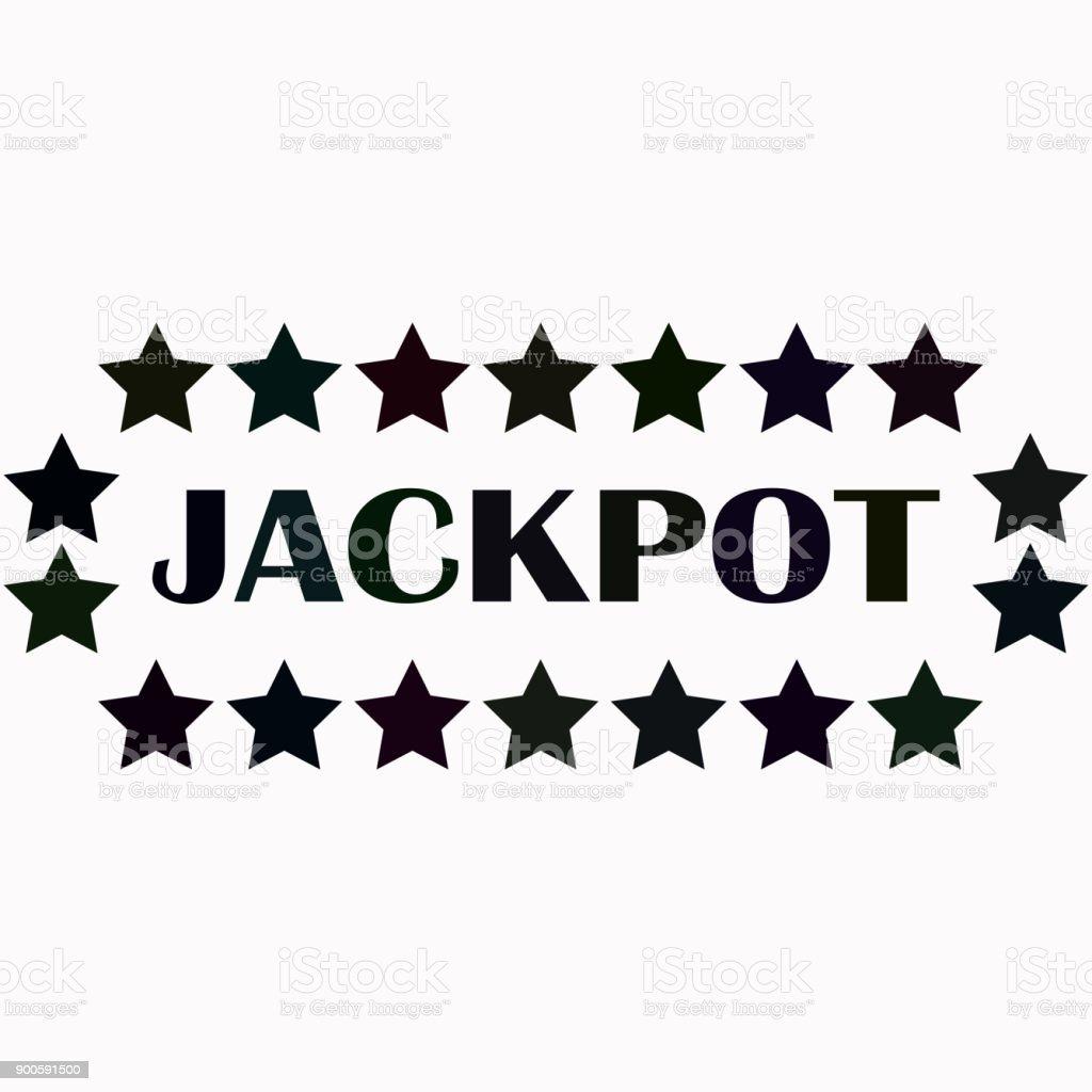 Icono de vector de Jackpot. - ilustración de arte vectorial