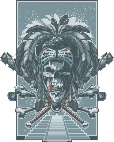 jaguar warrior skull