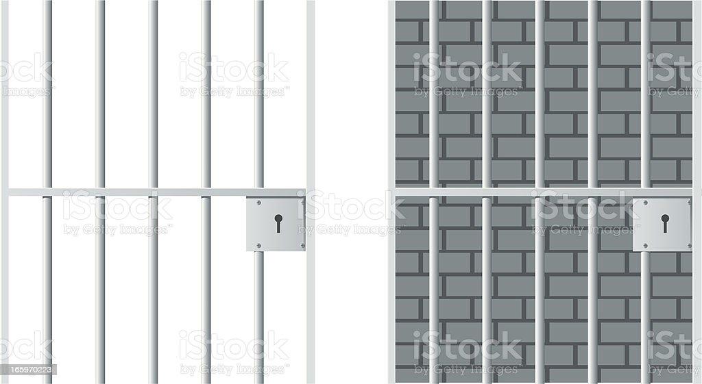 royalty free prison cell clip art vector images illustrations rh istockphoto com Jail Cell Door Clip Art jail cell bars clipart