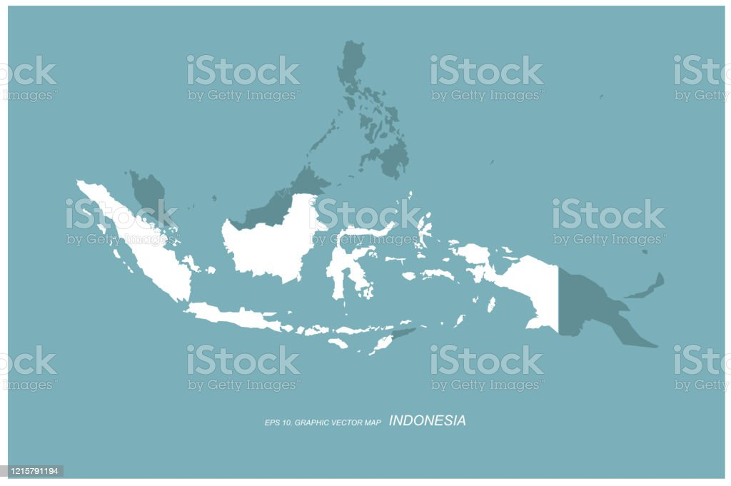 Jakarta Indonesia Map Asian Country Vector Map Stock Illustration Download Image Now Istock