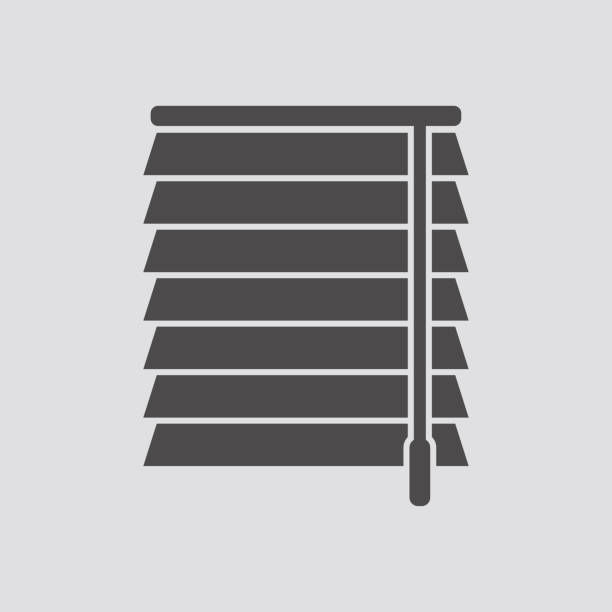 jalousie icon.vector illustration. - store stock illustrations