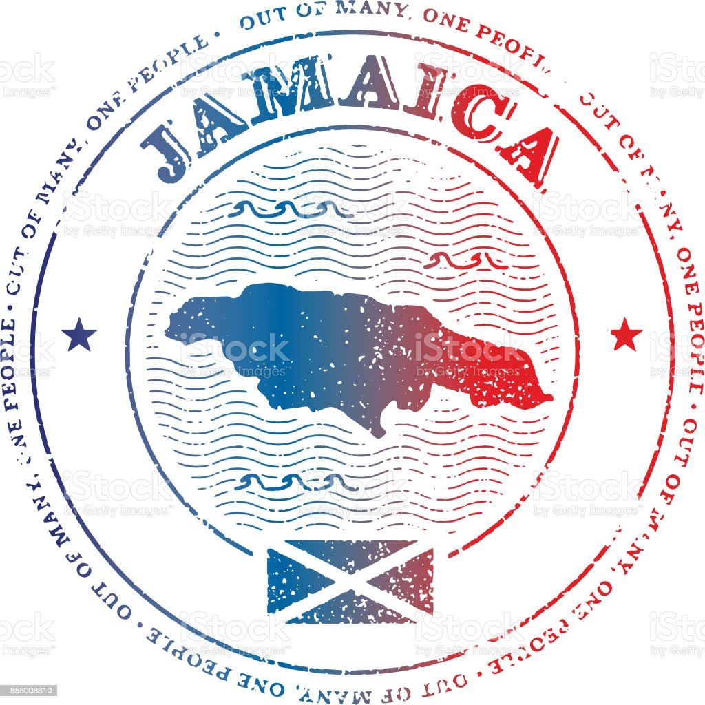 Jamaica travel Stamp