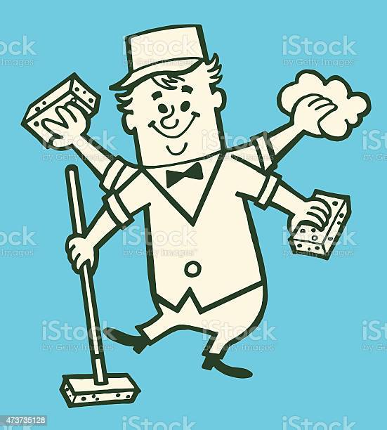 Janitor with extra hands cleaning vector id473735128?b=1&k=6&m=473735128&s=612x612&h=fmraomvlubcajw4stcr2mnh4eky6t08bzyylszbp 08=