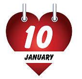 January 10 and love