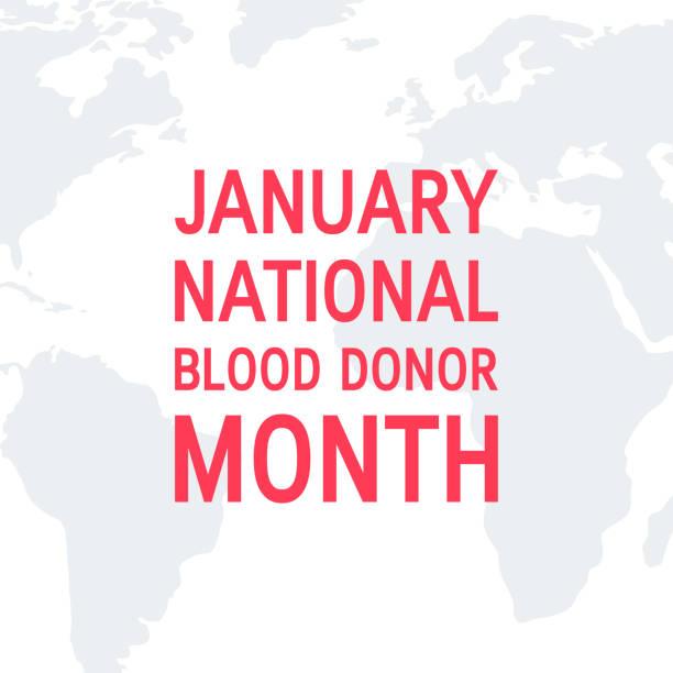 1月全國獻血者月載體概念 - 國家名勝 幅插畫檔、美工圖案、卡通及圖標