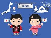 japan children character
