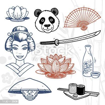 Japan doodles