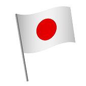 Japan flag icon.