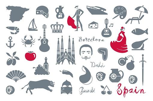 Japan icons. Vector illustration