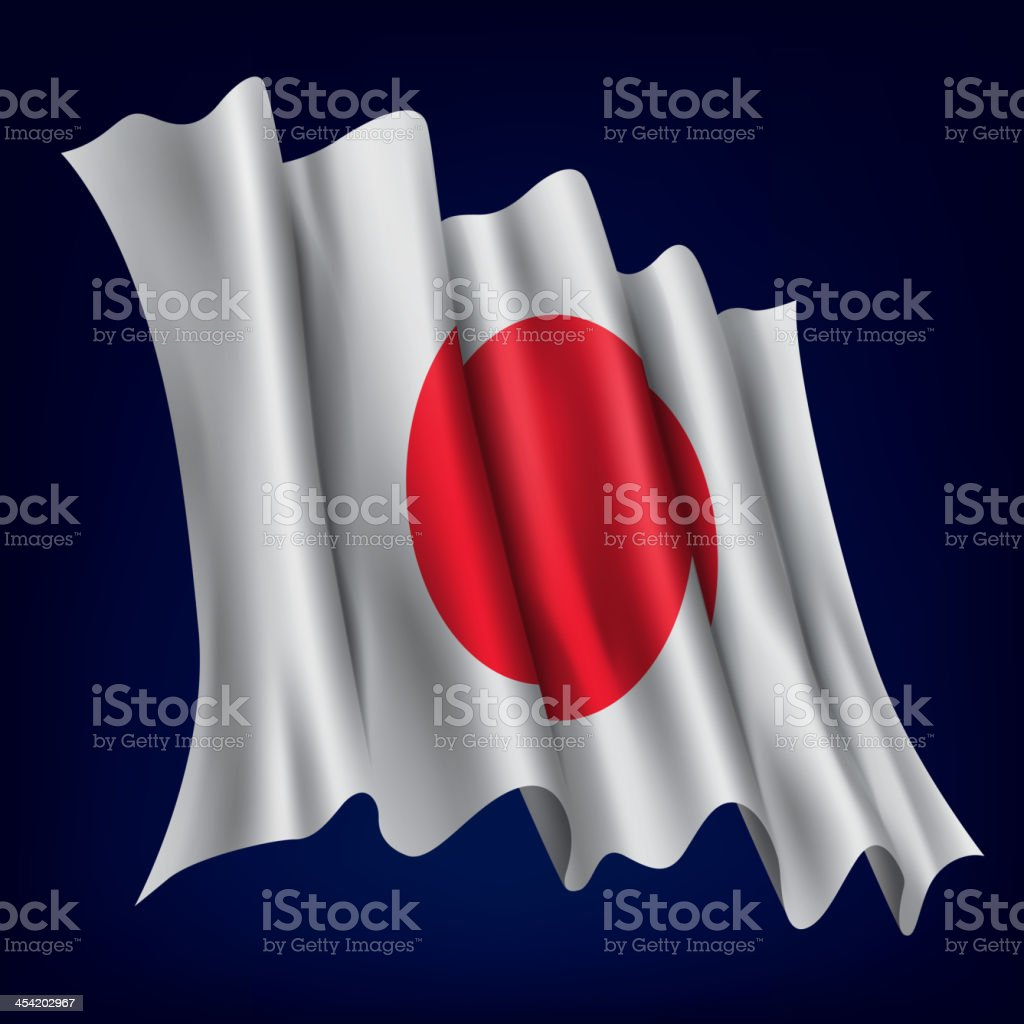 Japan, Japanese Flag royalty-free japan japanese flag stock vector art & more images of activity