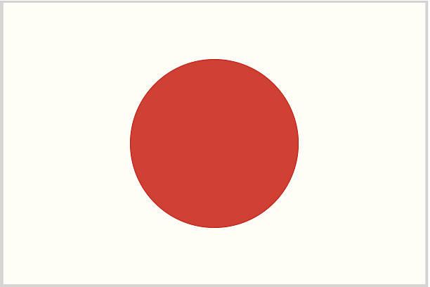 ilustraciones, imágenes clip art, dibujos animados e iconos de stock de japón o bandera japonesa - bandera japonesa