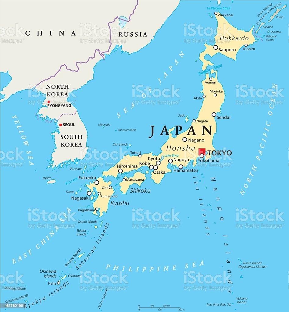 Il Giappone Cartina Politica.Mappa Politica Del Giappone Immagini Vettoriali Stock E Altre Immagini Di 2015 Istock