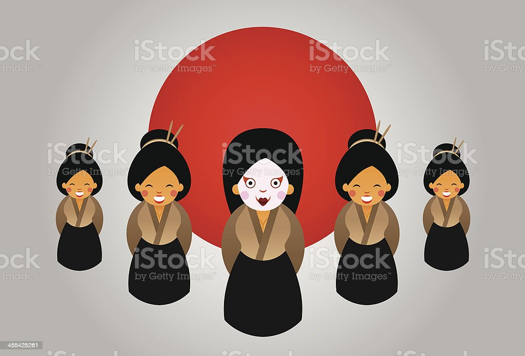 Japan womans royalty-free japan womans stock vector art & more images of adult
