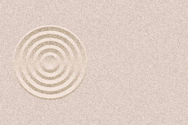 Royalty Free Zen Sand Clip Art, Vector Images