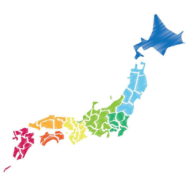 japan_map - 日本 地図点のイラスト素材/クリップアート素材/マンガ素材/アイコン素材
