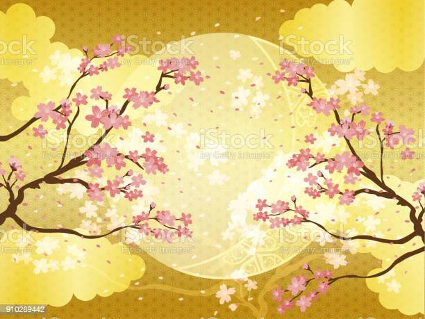Japanese background pattern of cherry blossoms and gold vector id910269442?b=1&k=6&m=910269442&s=612x612&h=1beobu0kkfjplt0ffnlwt7p8d2s79z0xhogxmyhi nw=