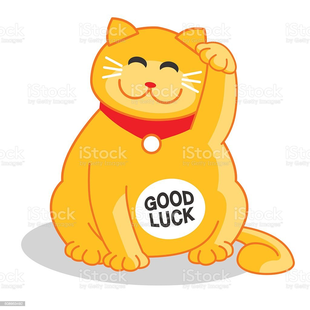 Japanese chinese good luck cat isolated vector illustration stock japanese chinese good luck cat isolated vector illustration royalty free japanese chinese good biocorpaavc