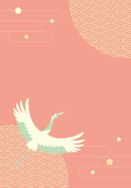 224 Japanese Wave Wallpaper Silhouette Illustrations Clip Art Istock