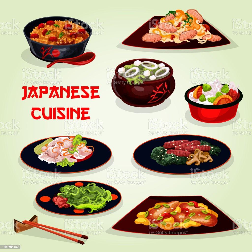 Japanische Küche Mittagessen Symbol Für Asiatische Küche Design ...